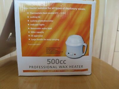 Deo Professional Wax Heater 500cc working used condition
