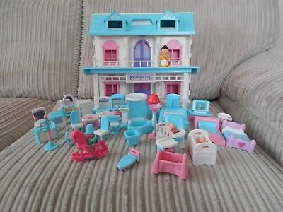 My Sweet Home Chidrens Dolls House With Furniture