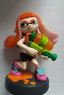 Nintendo Original AMIIBO Figur -INKLING MÄDCHEN- Splatoon Collection