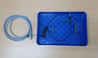 Epidural Spinal endoscope endoskop with storz light cable and connector