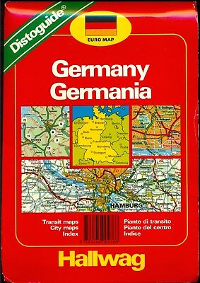 WEST GERMANY COLLECTORS: Pre-Unification Maps of Germany and Guides to Berlin