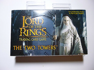 HERR DER RINGE-LORD OF THE RINGS TCG- The Two Towers - komplette Box