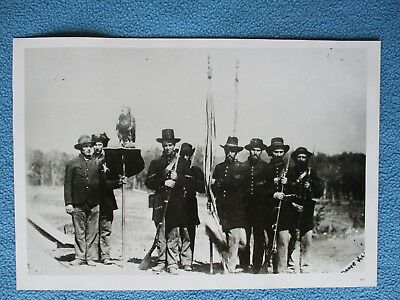Large Civil War Print - Company C, Wisconsin Volunteer Infantry, Iron Brigade