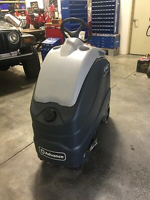 """Advance SC1500 Eco Flex 20"""" Ride On Floor Scrubber. Only 90 Hours. Excellent"""