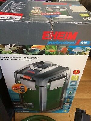 Eheim Professional 3 600 External Filter Tropical Fish Tank