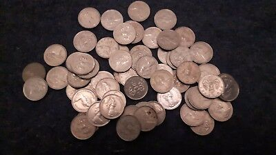Old British 5p Coins. (One shilling shape) 1968 to 1988. Free postage 5 pence