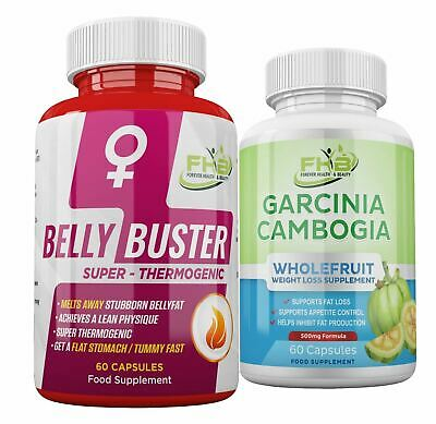LOSE WEIGHT FAST ! BELLY FAT BURNER For Women + GARCINIA CAMBOGIA Diet Tablets