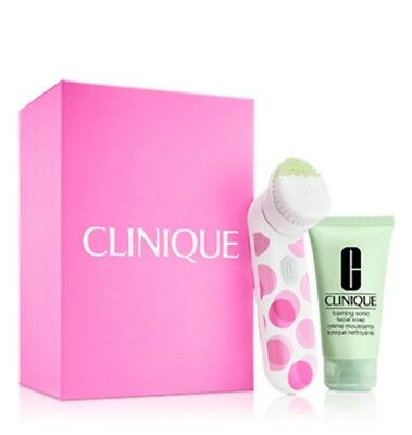 Clinique sonic system purifying brush-includes 2.5oz Facial Soap-Retail's $89