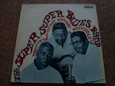 The Super Blues Band: Howlin' Wolf, Muddy Waters, Bo Diddley