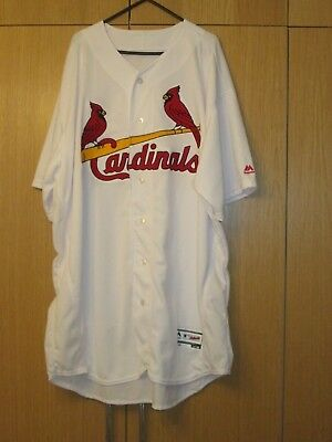 St. Louis Cardinals Authentic Majestic Flex Base Jersey - size 56