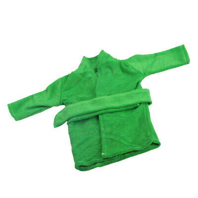 Bright Green Night-robe Bathrobe Outfit Fit American Girl 18'' Doll Clothes