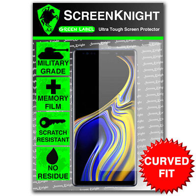 ScreenKnight Samsung Galaxy Note 9 / IX FRONT SCREEN PROTECTOR - CURVED FIT