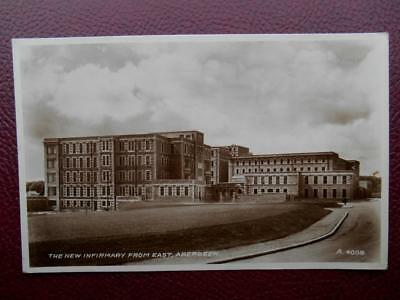 New Infirmary From East ABERDEEN *Vintage* RP 1936 Royal Hospital Foresterhill