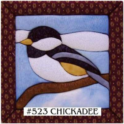 "Chickadee Quilt Magic Kit 6""X6"" 724180005234"