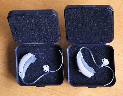 Pair Siemens Teneo S+ hearing aids with 13 new batteries