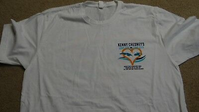 Kenny Chesney T-Shirt Benefiting Hurricane Irma Relief Mens Large
