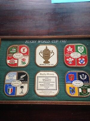 1987 Rugby World Cup Memorabilia FIRST World Cup