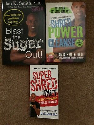 Dr, Ian K. Smith weight loss book lot. Great deal!