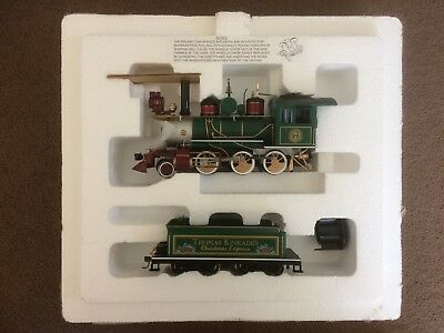 Bradford Exchange Thomas Kinkade Christmas Express Locomotive Collection