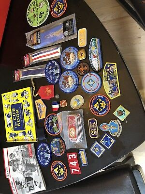 Cub Scout BSA Patches, Books, Ribbons, More