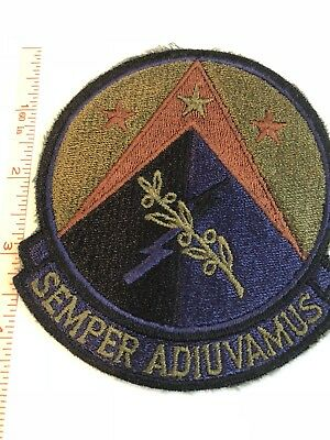 "410th US Air Force WWII WW2 ""Semper Adiuvamus""  Original Embroidered Patch USAF"