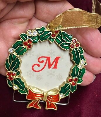 Christmas Tree Photo Picture Frame Ornament