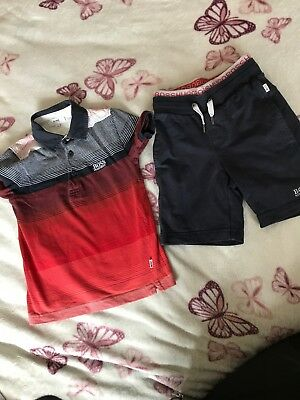Hugo Boss Short Set Age 4