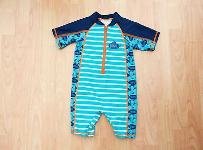 Boys UV protective Swim all in one suit age 18-24 Months from Matalan