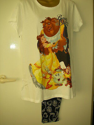 Avon Disney Beauty and The Beast PJ s Pyjamas Ladies long trousers (RRP £22) 439be7ffa