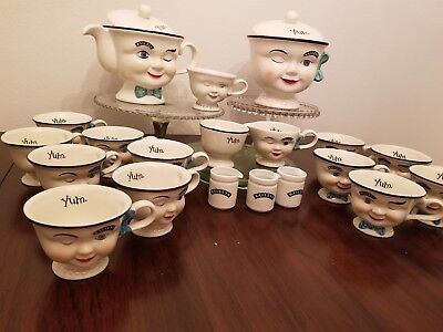 Vintage Collectible Bailey's Irish Cream Limited Edition Tea Set & Bonus Cups