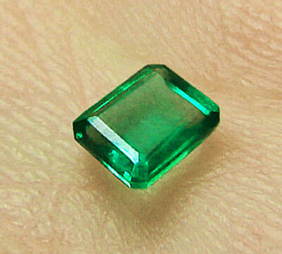 1.66 ct Natural Colombian Emerald Certified No Reserve
