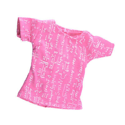 Pink Formula Short Sleeve T-Shirt Fits American Girl 18 inch Dolls Clothes