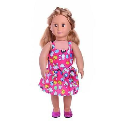 """Piece of Sun Dress Clothing for 18"""" AG American Girl OG Our Generation Doll"""