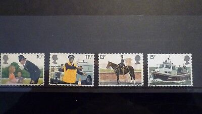 1979 GB Commemorative Stamps 150th Anniversary of Met.Police Fine Used