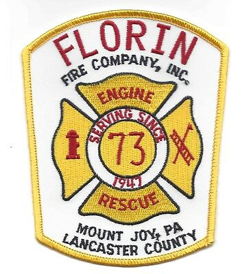 Florin Fire Company, Lancaster County PA, Defunct Version 1