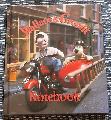 "Wallace & Gromit Notebook / Blank Book -  ""The Wrong Trousers"" - Aardman - New"