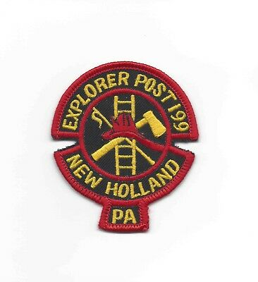 New Holland Fire Dept Explorer Post 199, Lancaster County PA - DEFUNCT