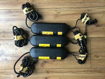 3x Dedolight DT24 -1U dimmable transformers 120VAC FOR USA USE ONLY!