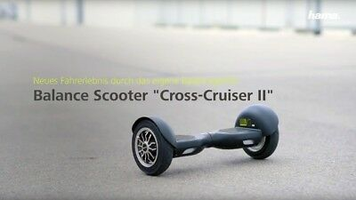 hama outdoor cruiser x-cruiser balance scooter