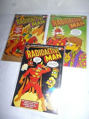 Radioactive man Comics 1994 216, 412, 679 - Near Mint Complete with Free Cards
