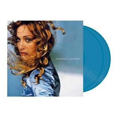 MADONNA Ray Of Light - 2LP / Blue Vinyl (2017) Limited