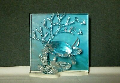 Swarovski Wonders Of The Sea- Clear Eternity- Box, Certificate, Outer box XLNT!