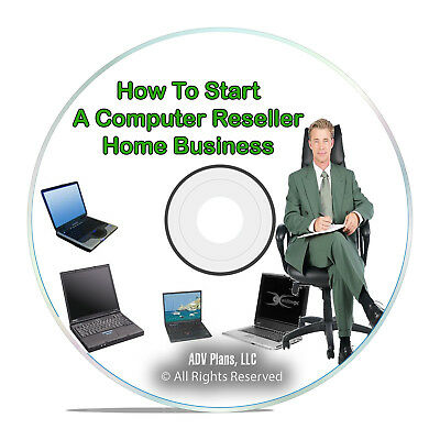 How To Start a Home Business Online, Computer Reseller, Sell Computers DVD H45
