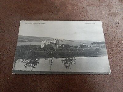 Early postcard - Lochinch Castle - Stranraer - Dumfries and Galloway