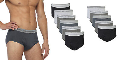 GILDAN Men's Briefs Assorted-Size-Packs Assorted-Colors SIZE S(28-30)~2XL(44-46)