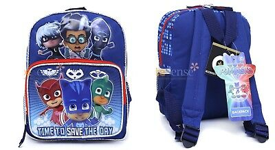 """PJ Masks TIME TO SAVE THE DAY Mini 10"""" Backpack"""