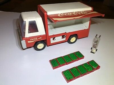 Buddy L Coke truck w/ coke crates and hand truck - Japan - COMPLETE