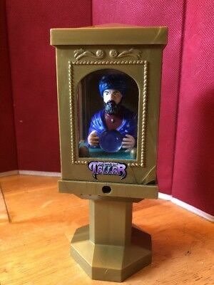 FORTUNE TELLER MACHINE Zoltar Vintage Gold Plastic Toy Battery operated RARE