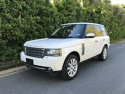 2010 Land Rover Range Rover HSE Supercharged 2010 Land Rover HSE Supercharged Loaded