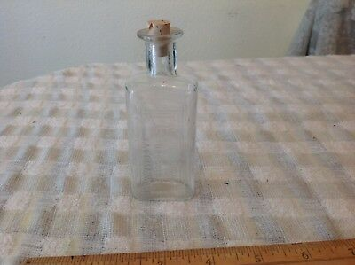 ANTIQUE APOTHECARY MEDICINE French & co. tacoma druggists Advertising bottle Jar